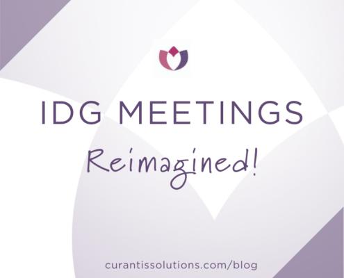 Curantis Solutions IDG Meetings